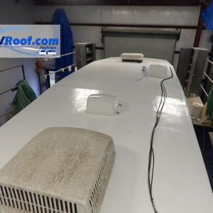 Fifth Wheel full roof view FlexArmor